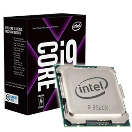 Intel Core i9-9820X 3.30GHz. Socket 2066.