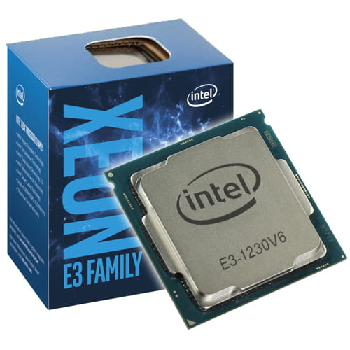 Intel Xeon E3-1230v6 3.5Ghz. 1151.