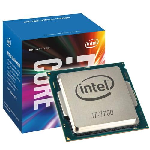 Intel Core I7-7700 3.6Ghz. 1151