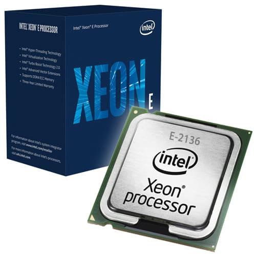 Intel Xeon E-2136 3.3Ghz. Socket 1151.