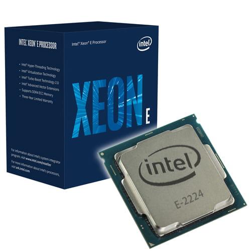 Intel Xeon E-2224 3.4Ghz. Socket 1151.