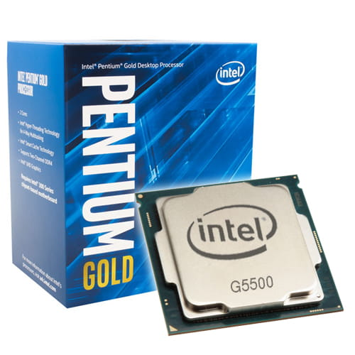 Intel Pentium Gold G5500 3.8Ghz. Socket 1151.