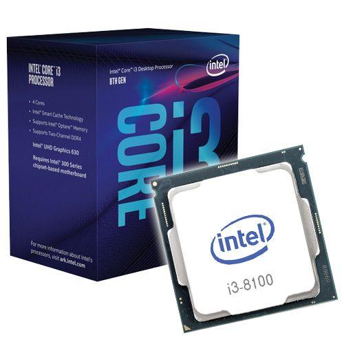 Intel Core i3-8100 3.6Ghz. 1151