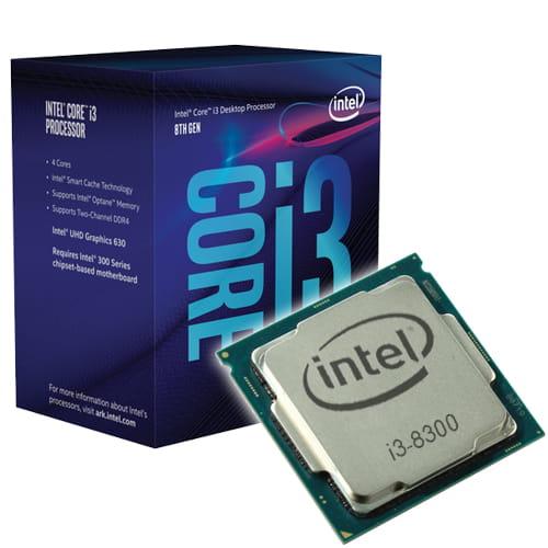 Intel Core i3-8300 3.70GHz. Socket 1151.