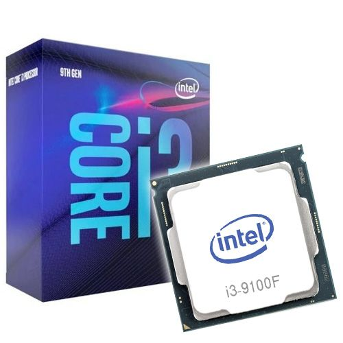 Intel Core i3-9100F 3.6GHz. Socket 1151.
