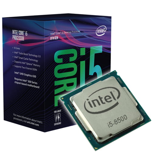 Intel Core i5-8500 3.00GHz. Socket 1151.