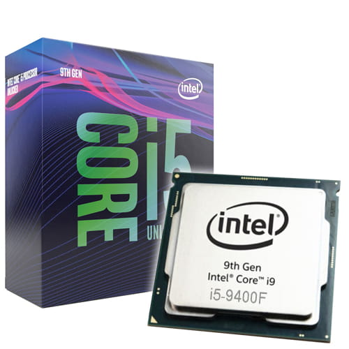 Intel Core i5-9400F 2.9GHz. Socket 1151.