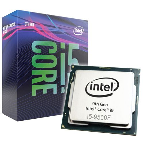 Intel Core i5-9500F 3GHz. Socket 1151.