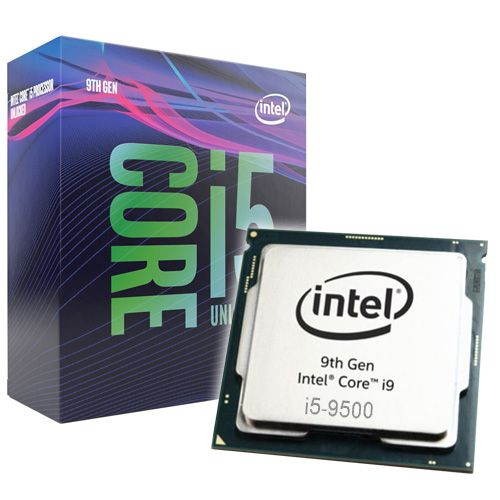 Intel Core i5-9500 3GHz. Socket 1151.