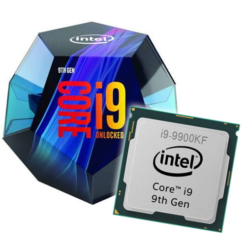 Intel Core i9-9900KF 3.60GHz. Socket 1151.