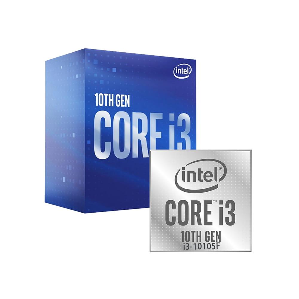 Intel Core i3-10105F  3700 1200   BOX