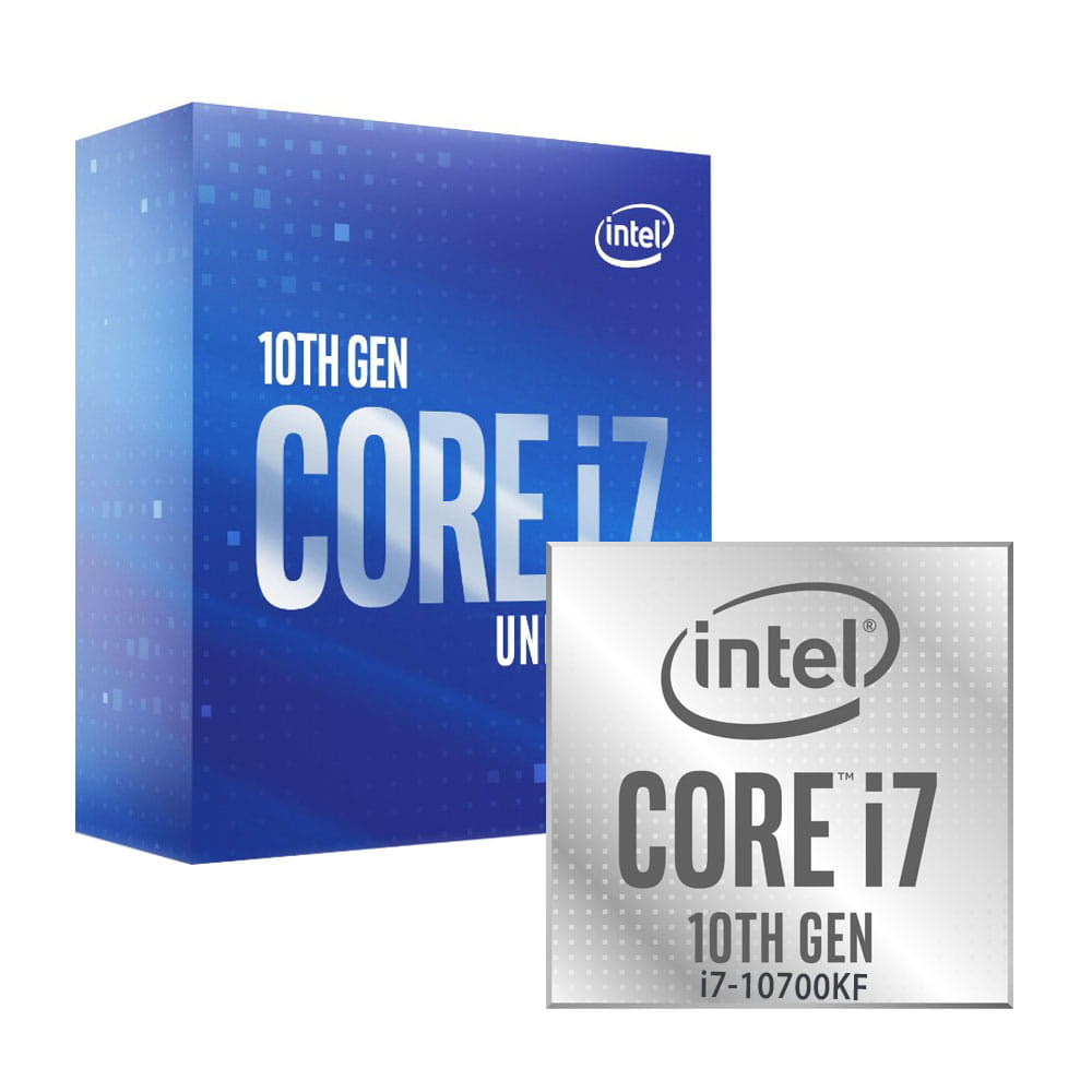 Intel Core i7-10700KF 3.8Ghz. Socket 1200