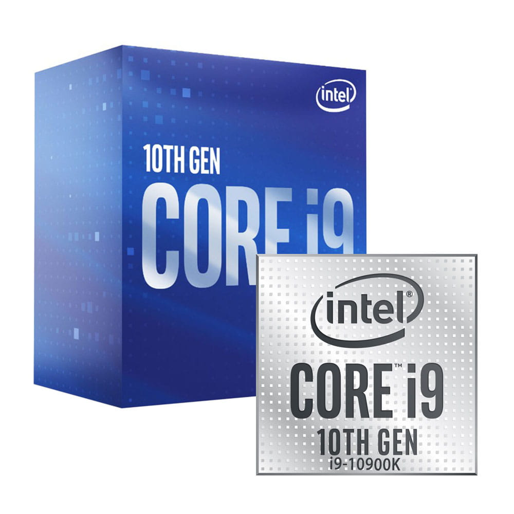 Intel Core i9-10900K 3.7Ghz. Socket 1200