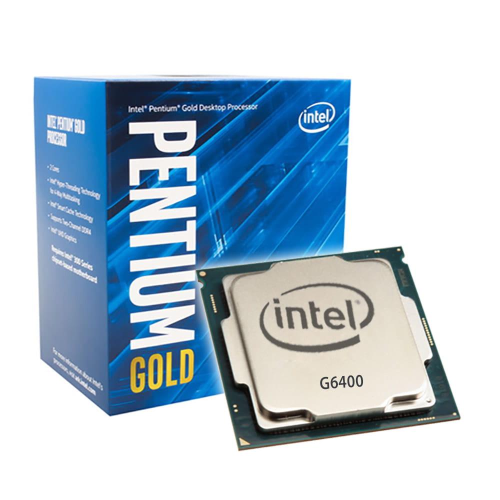 Intel Pentium Gold G6400 4Ghz. Socket 1200.