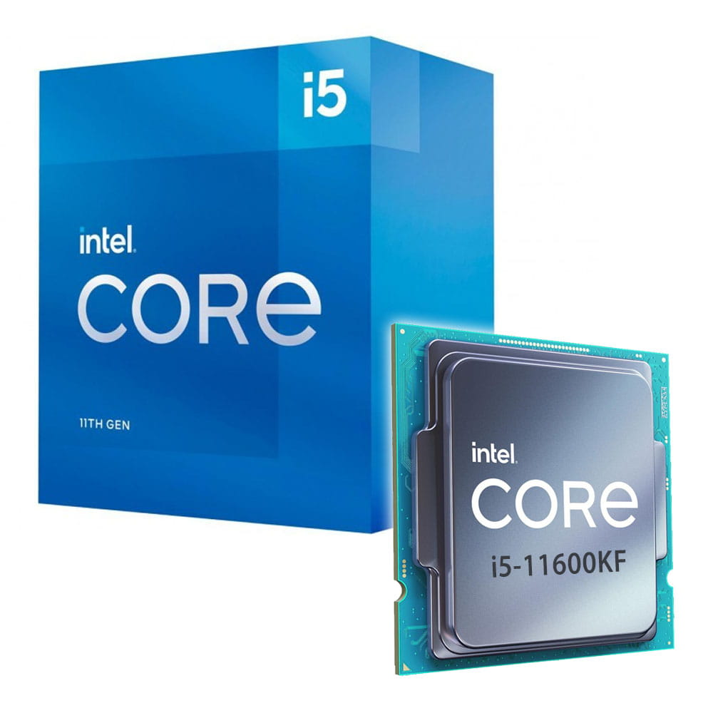 Intel Core i5-11600KF 3.9Ghz. Socket 1200.