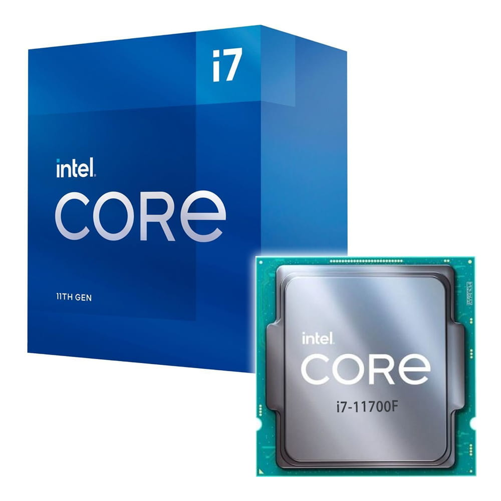 Intel Core i7-11700F 2.5Ghz. Socket 1200.