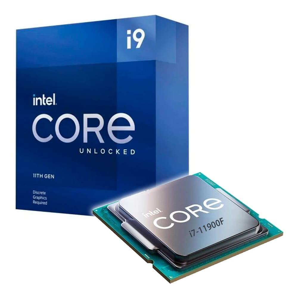 Intel Core i9-11900F 2.5Ghz. Socket 1200.