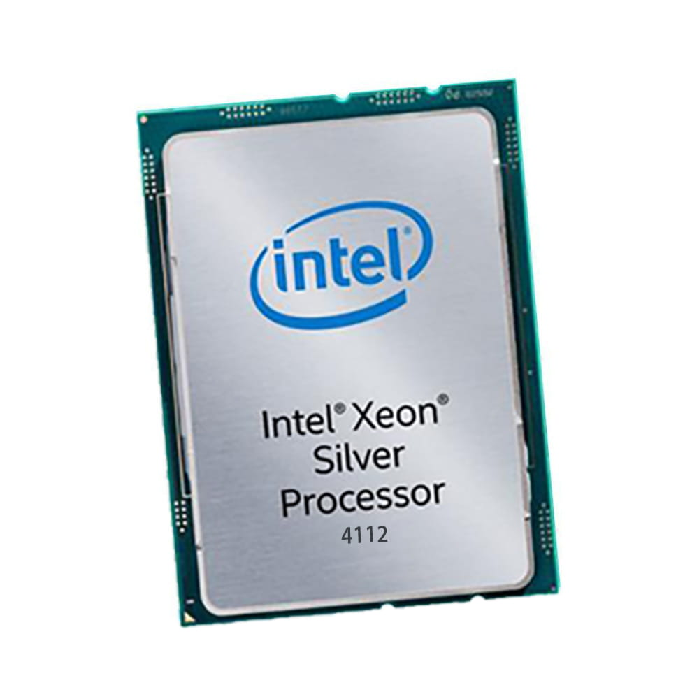 Intel Xeon Silver 4112 2.6Ghz. Socket 3647. TRAY