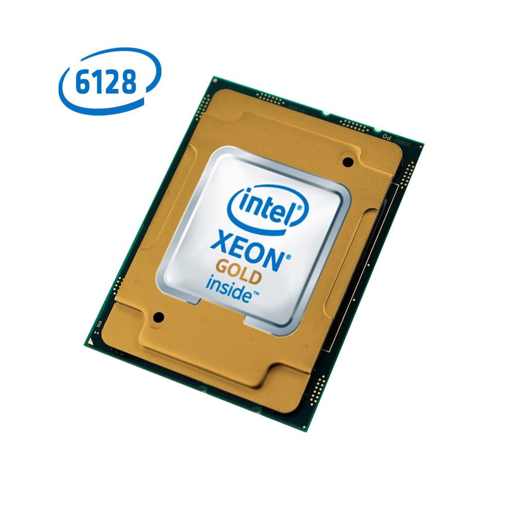 Intel Xeon Gold 6128 3.4Ghz. Socket 3647. TRAY