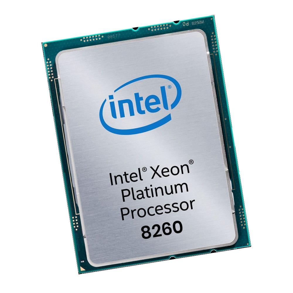 Intel Xeon Platinum 8260 2.4Ghz. Socket 3647. TRAY.