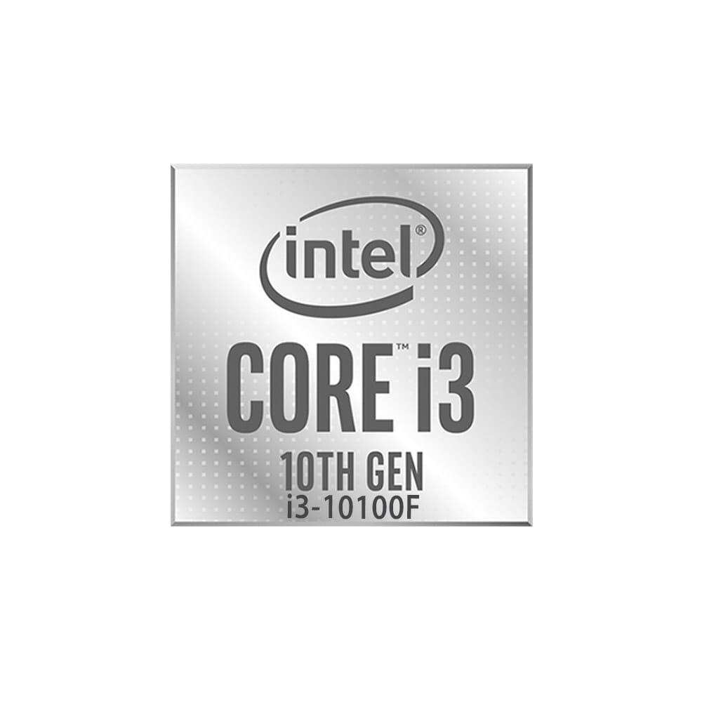 Intel Core i3-10100F 3.6Ghz. Socket 1200. TRAY