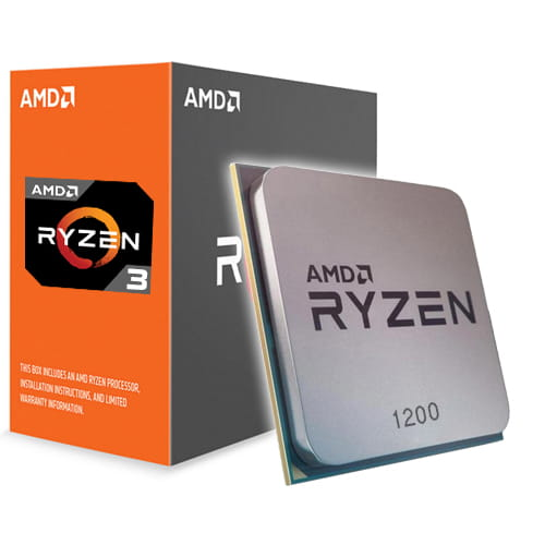 Amd Ryzen 3 1200 3.1Ghz. AM4