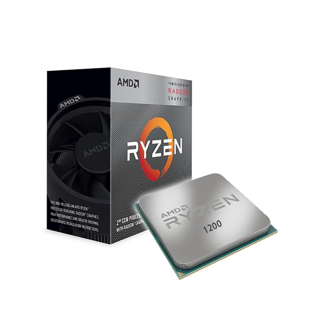 Amd Ryzen 3 1200 3.2Ghz. Socket AM4.