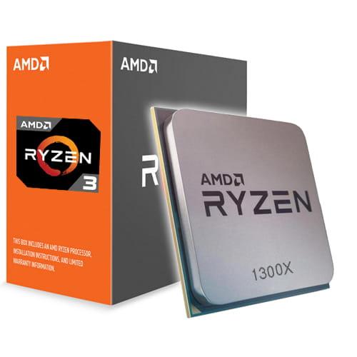 Amd Ryzen 3 1300X 3.5Ghz. AM4