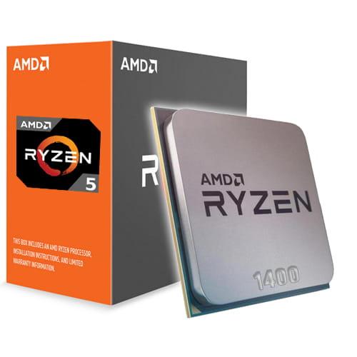 Amd Ryzen 5 1400 3.2Ghz. AM4