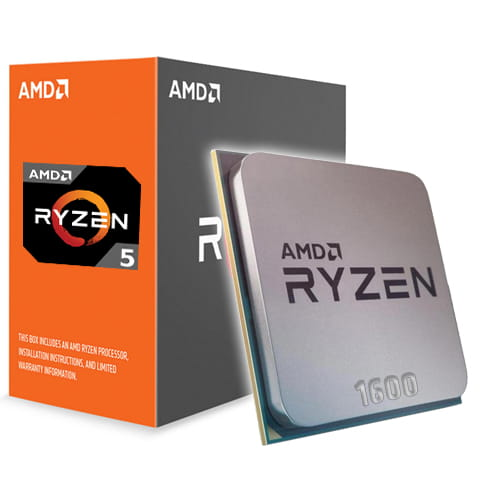 Amd Ryzen 5 1600 3.2Ghz. AM4