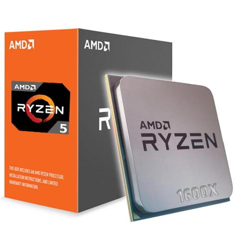 Amd Ryzen 5 1600X 3.6Ghz. AM4