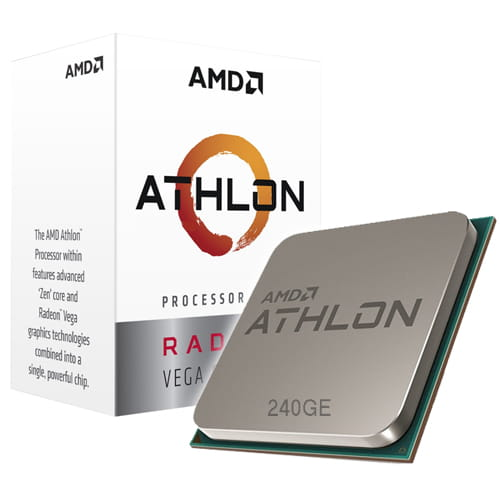 Amd Athlon 240GE Vega 3 3.5Ghz. AM4.