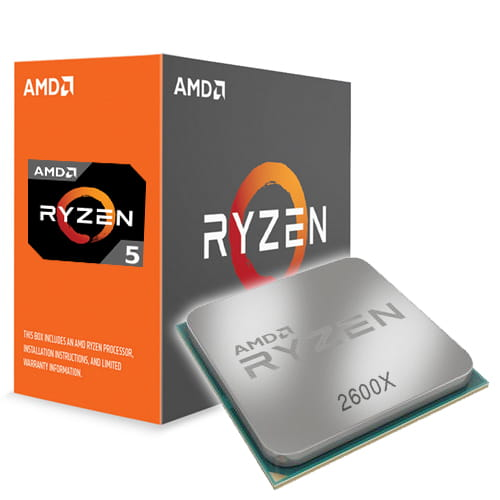 Amd Ryzen 5 2600X 4.2Ghz. AM4