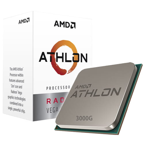Amd Athlon 3000G Vega 3 3.5Ghz. Socket AM4.
