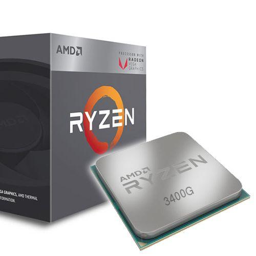 Amd Ryzen 5 3400G Vega 11 3.7Ghz. AM4