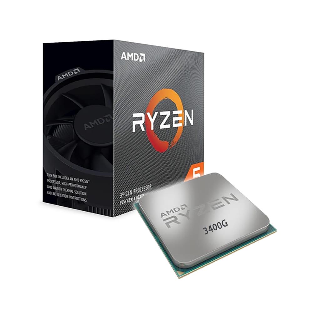 Amd Ryzen 5 3400G 3.7Ghz. Socket AM4