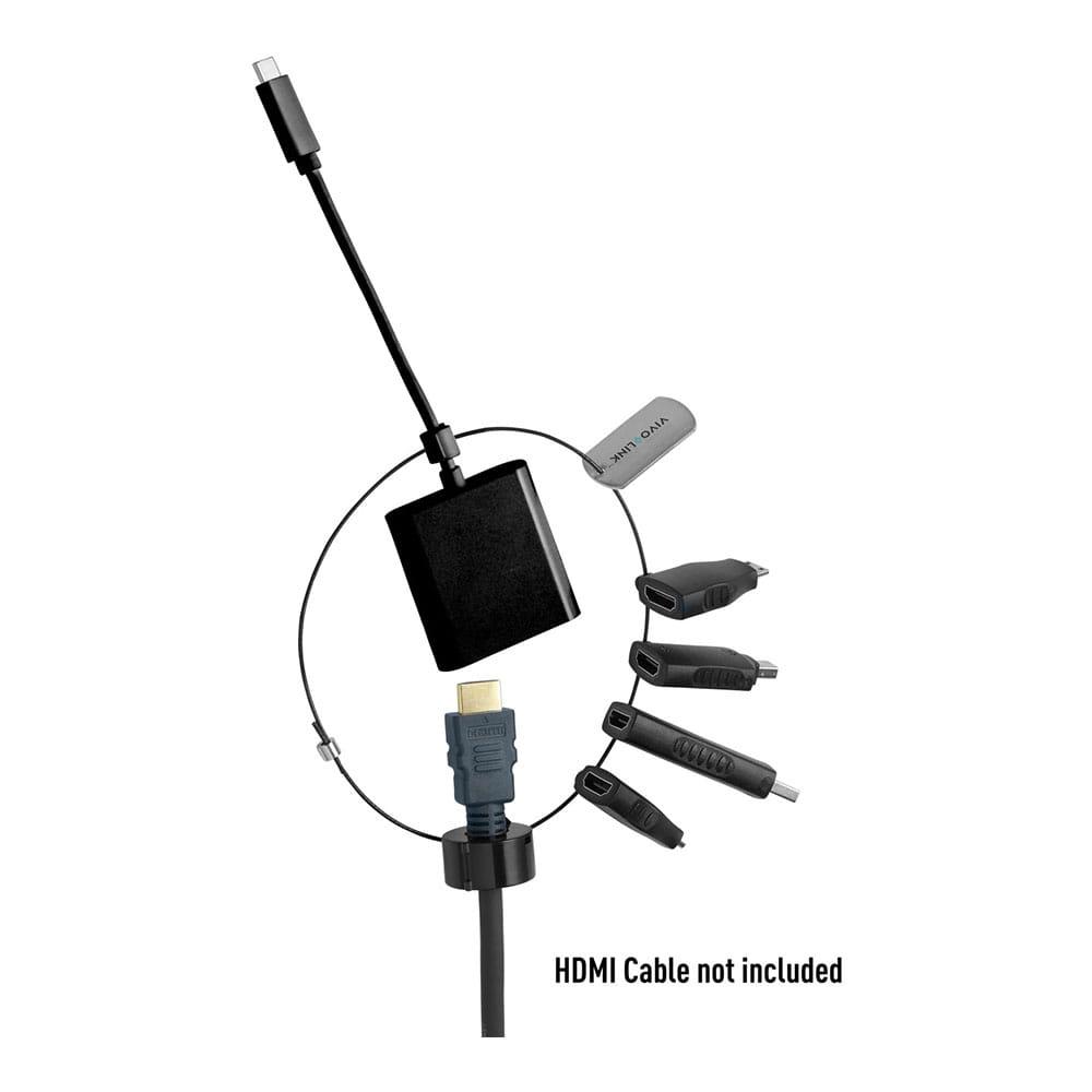 Vivolink Pro HDMI a USB-C/B