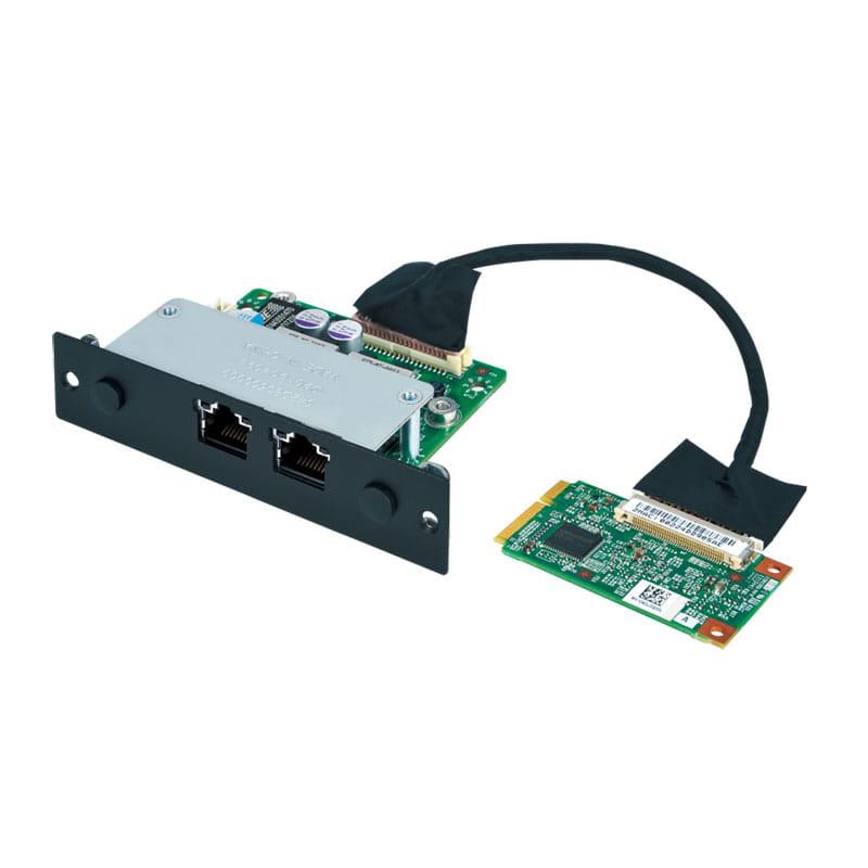 Expansion Module with 2 x PoE +, Intel i210-IT Giga LAN, RJ45 Port  para MITAC MX1-10FEB