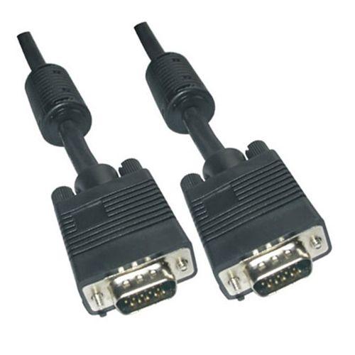 Cable SVGA con ferrita. HDB15/M-HDB15/M. 20m