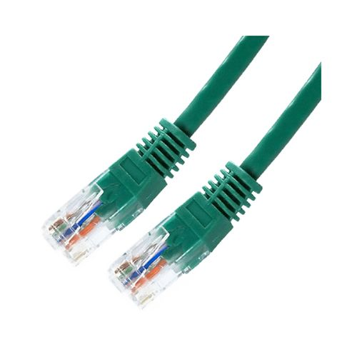 Cable UTP Cat.5E 0.5m Verde