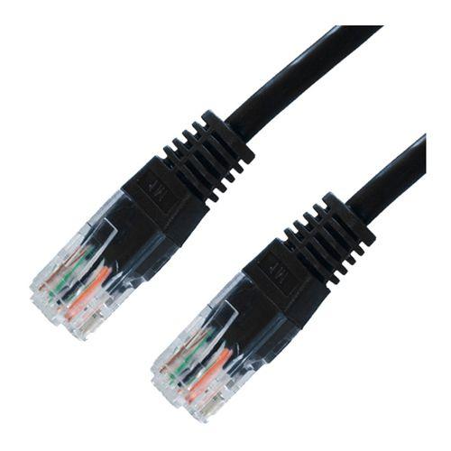 Cable UTP Cat.5E 3m Negro