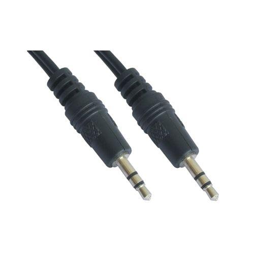 Cable audio estéreo. 3.5/M-3.5/M. 0.3m