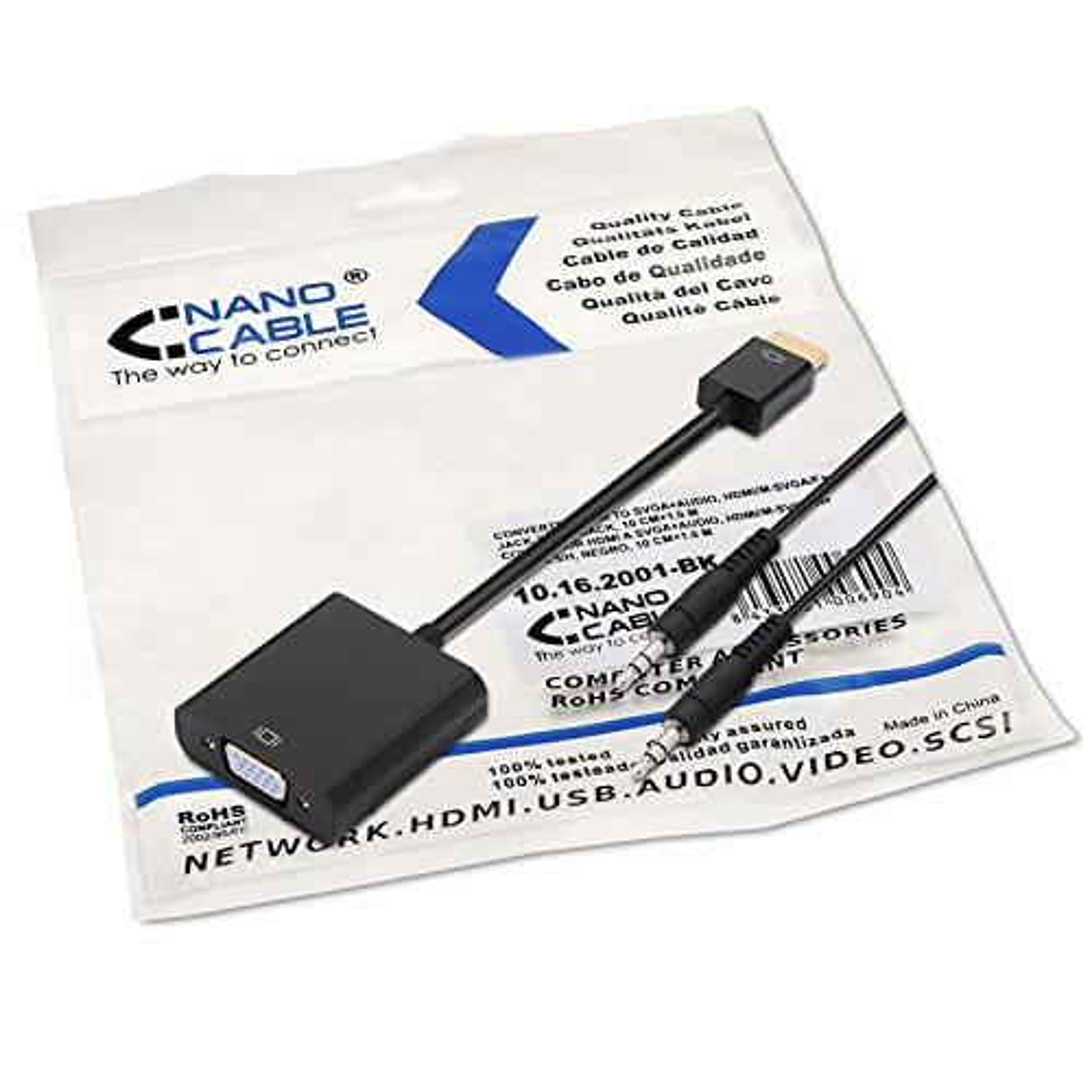 Cable alimentación. 4-Pin/H a 4+4Pin/M. 15cm