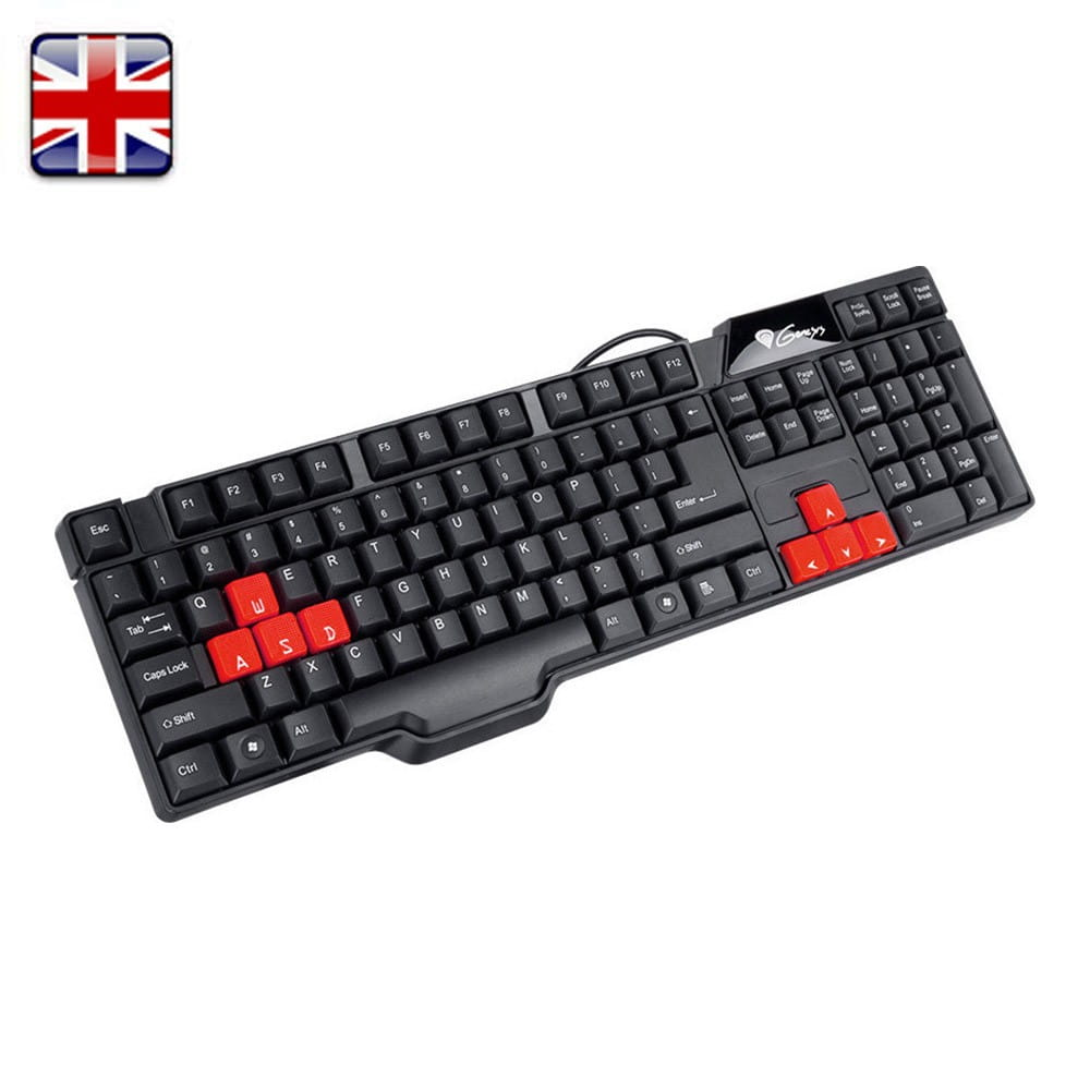 Teclado Genesis RM12X UK Layout