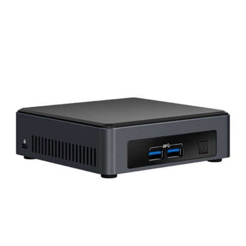 Intel NUC NUC7i3DNKE. Intel i3-7100U.