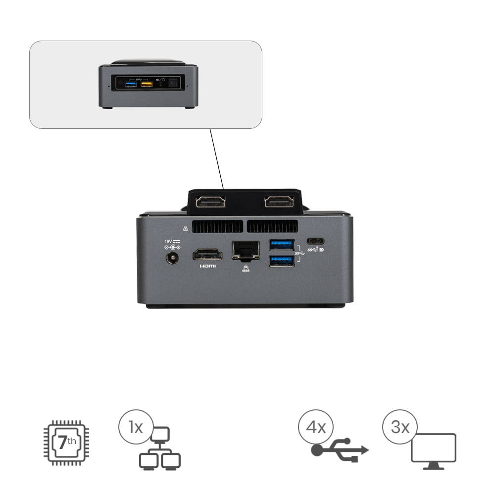Nuc Appliot  I3-3HHD