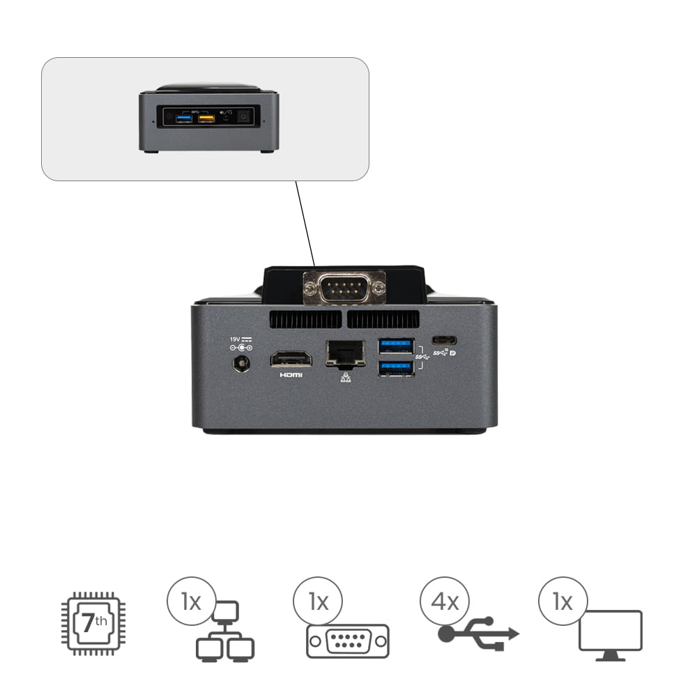 Nuc Appliot I3-SEHD