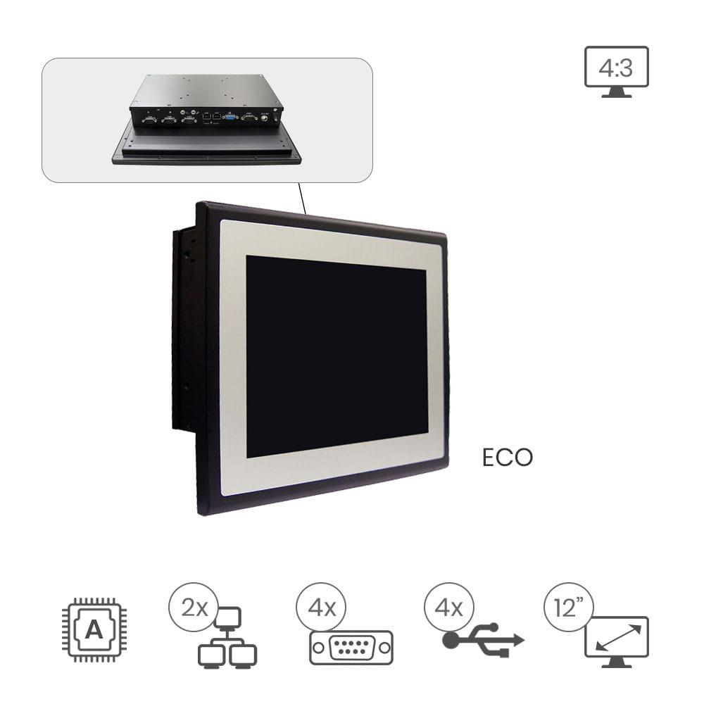 PanelPC Lex Star Aluminio 4:3 2I385CW-I44 - 12.1 pulg