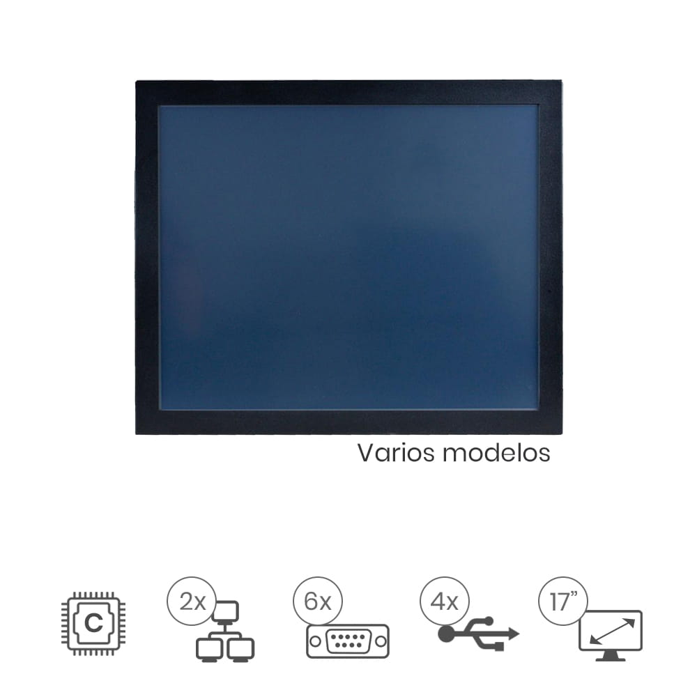 "Panel Pc Táctil 17"" IP65"