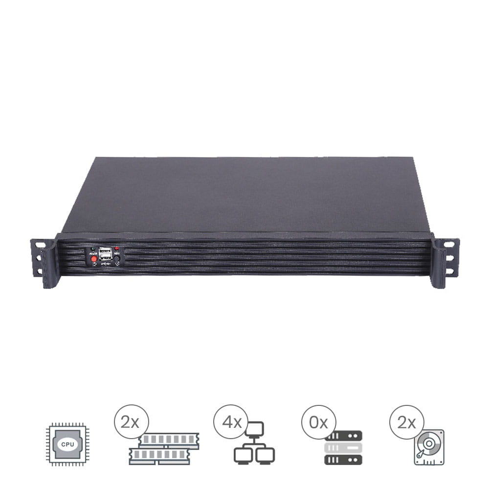 ProServe IT-1001 AFA Rack 1U Bajo consumo